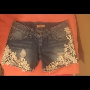 Guess jeans cutoff shorts    Offers welcomed!